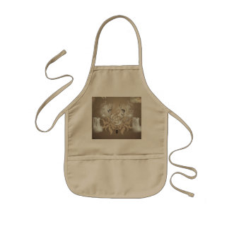 Clef with waterfalls apron