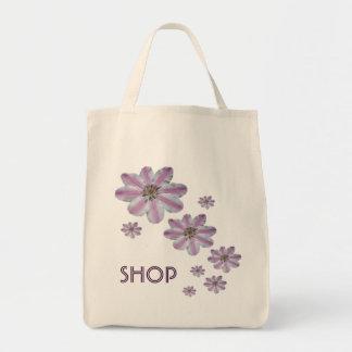 Clematis Shopping Bag