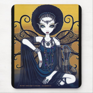 Cleo Egyptian Cobra Faerie Goddess Mousepad