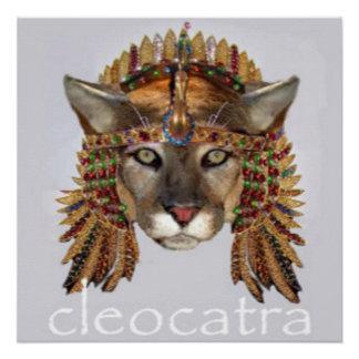 CleoCATra Poster