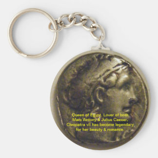 Cleopatra Queen of Egypt Keychain