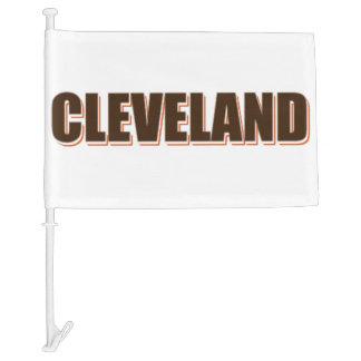Cleveland Car Flag