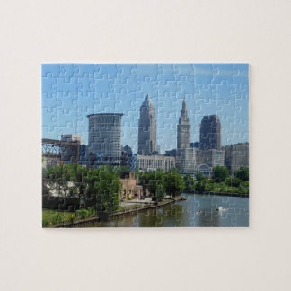 Cleveland, Ohio Rolling on the River Puzzle
