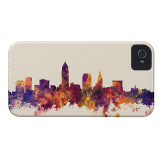 Cleveland Ohio Skyline iPhone 4 Covers