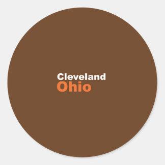 Cleveland, Ohio Sticker