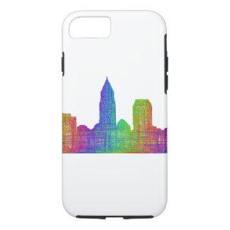 Cleveland skyline iPhone 8/7 case