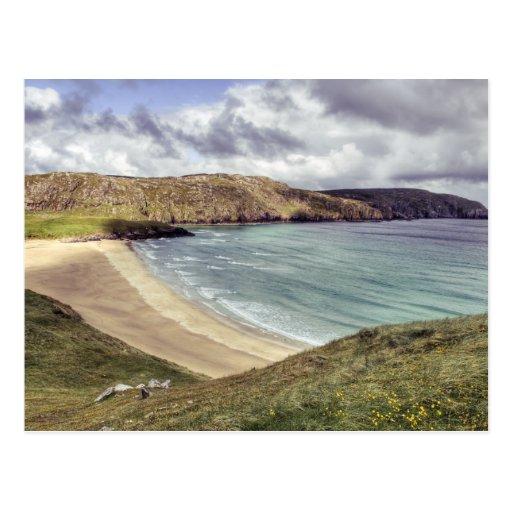 Clibhe Beach Outer Hebrides Postcards