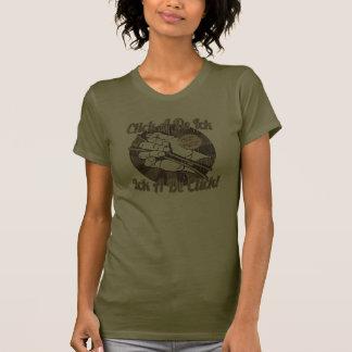 Click A De Bones Brown Shirt