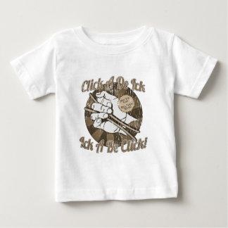 Click A De Bones Brown T Shirt