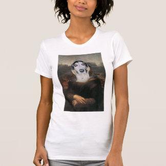 Clifford the Basset Hound mona lisa T-Shirt