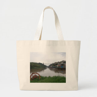 Clifton Suspension Bridge Large Tote Bag