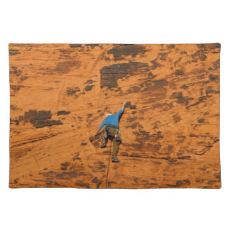 Climbing on Red Rocks Placemat