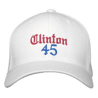 Clinton 45 embroidered baseball cap