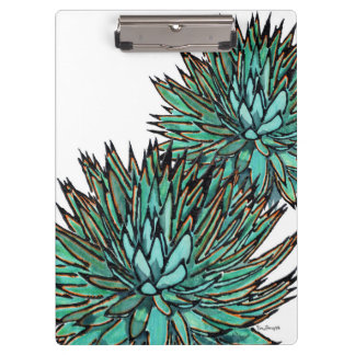 Clipboards - Spiky Green Agave