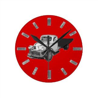 Clock, 1941 - 1942 Chevrolet Truck, Chev, Chevy Round Clock