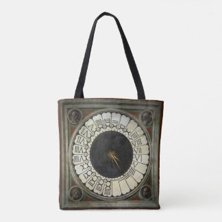 Clock in the Duomo by Paolo Uccello Tote Bag