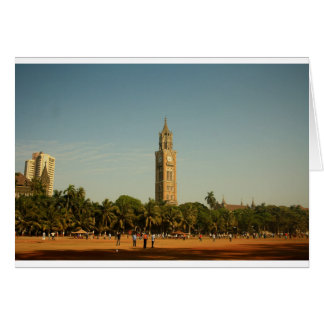 Clock Tower in Mumbai Card