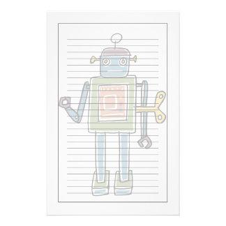 Clockwork Robot Stationery