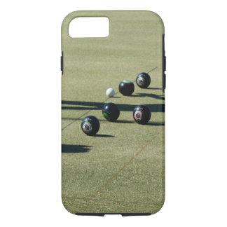 Close_Call,_Lawn_Bowls,_Tough iPhone 7 Case