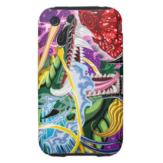 Close-Up Dragon Of The Rose iPhone 3G Tough Case iPhone 3 Tough Case