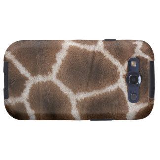 Close up of Giraffes Skin Samsung Galaxy SIII Case