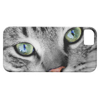 Closeup Cat iPhone 5 Cases