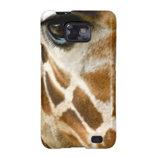 Closeup Giraffe Face Wild Animals Nature Photo Galaxy SII Cover