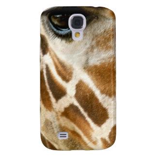 Closeup Giraffe Face Wild Animals Nature Photo Galaxy S4 Cover
