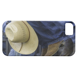 Closeup of Boots & Hat iPhone 5 Case