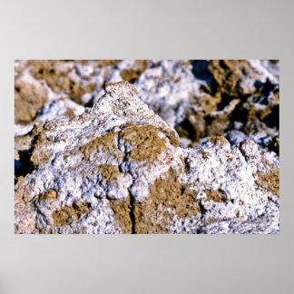 Closeup, Salt Flats Print