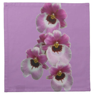 Cloth Napkin - Pansy Orchid