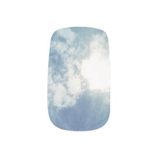 Cloud Theme Minx Nail Art, Single Design per Hand Minx Nail Art