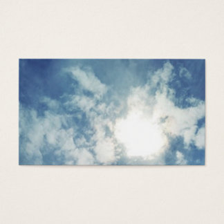 """Cloud Themed Business, 3.5"""" x 2.0"""", 100 pack Business Card"""