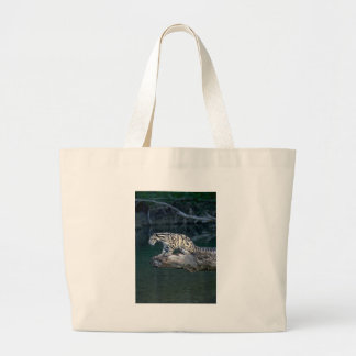 Clouded leopard canvas bag