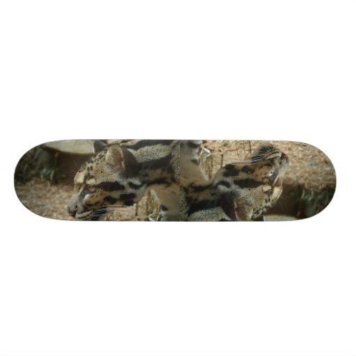 Clouded Leopard board Skate Boards