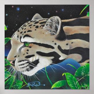 Clouded Leopard Canvas Print