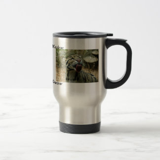 Clouded Leopard - Customized 15 Oz Stainless Steel Travel Mug