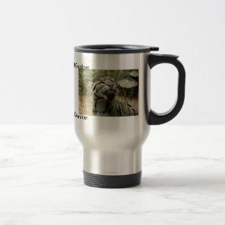 Clouded Leopard - Customized Travel Mug