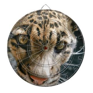Clouded Leopard Dart Board