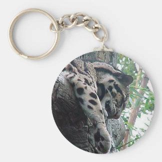 Clouded Leopard Key Ring
