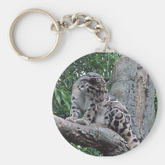 Clouded Leopard Keychains