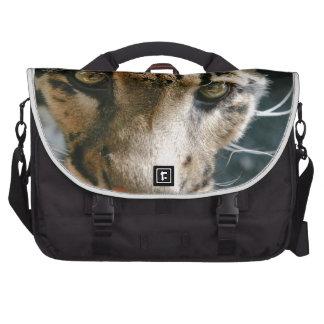 Clouded Leopard Laptop Bags