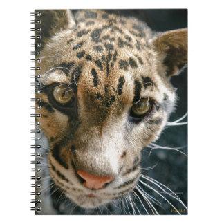 Clouded Leopard Notebook