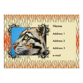 Clouded Leopard Pack Of Chubby Business Cards