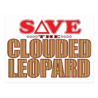 Clouded Leopard Save Postcard