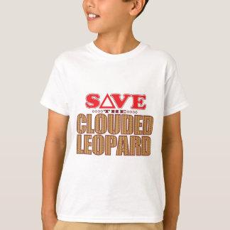 Clouded Leopard Save T-Shirt