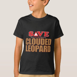 Clouded Leopard Save T-Shirt