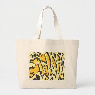 Clouded Leopard Skin Pattern Jumbo Tote Bag
