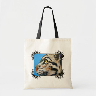 Clouded Leopard Budget Tote Bag