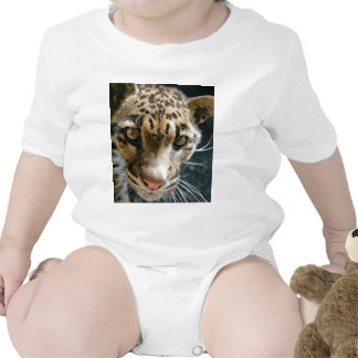 Clouded Leopard Rompers